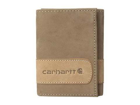 Carhartt Two-Tone Trifold Wallet - Two-Tone Brown