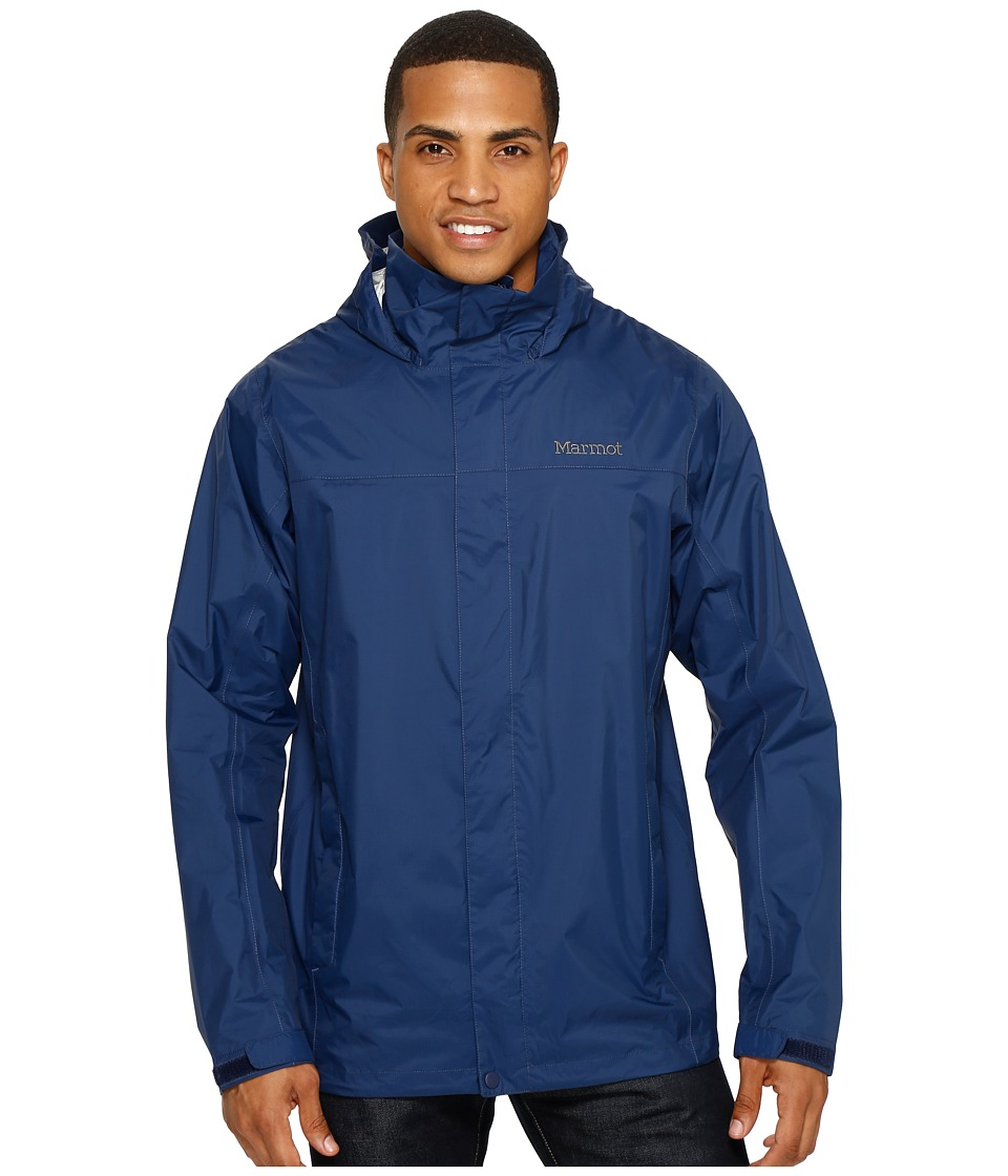 Marmot PreCip(r) Jacket Tall (Arctic Navy) Men's Jacket