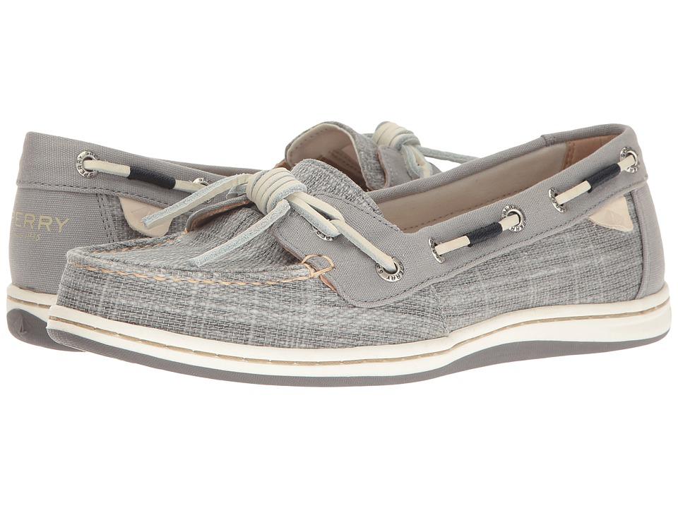 Sperry Barrelfish Heavy Linen (Grey) Women