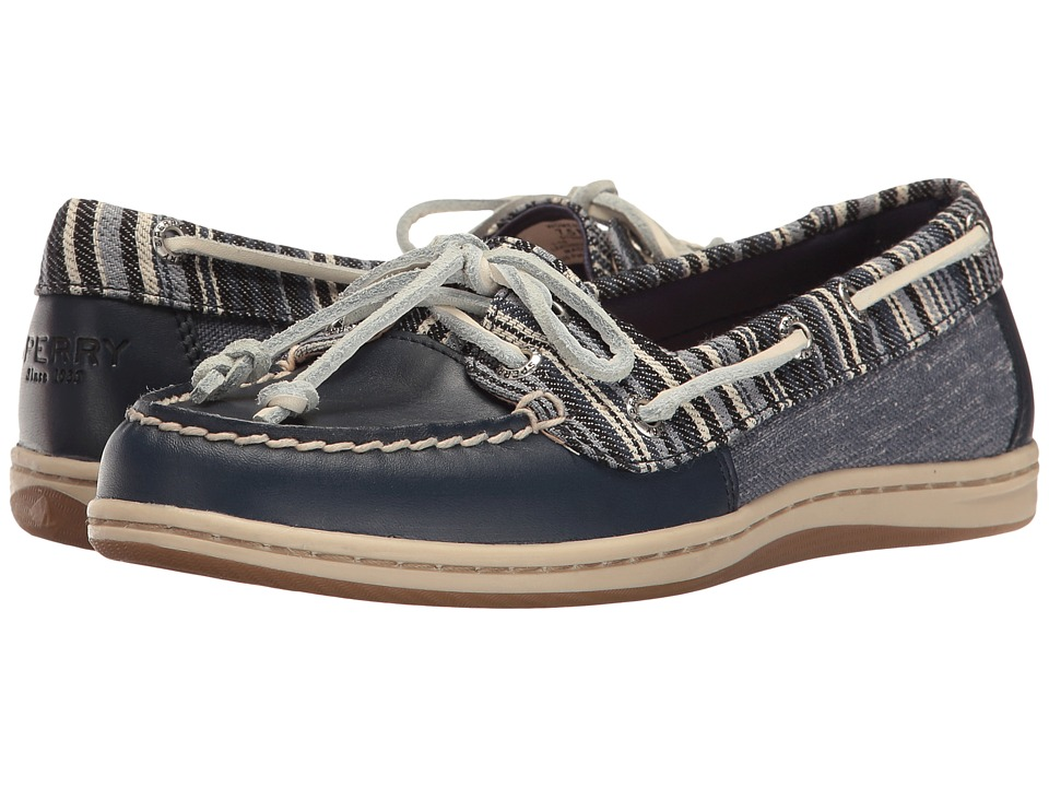 Sperry Firefish Denim Stripe (Navy) Women