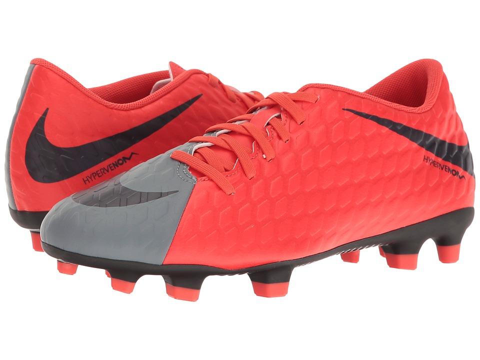 Nike Hypervenom Phade III FG (Cool Grey/Purple Dynasty/Ma...