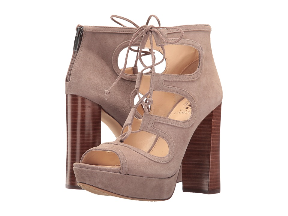 Vince Camuto - Kamaye (Stone Taupe True Suede) High Heels