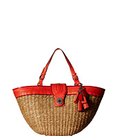 COACH - Straw Editorial Extra Large Tote