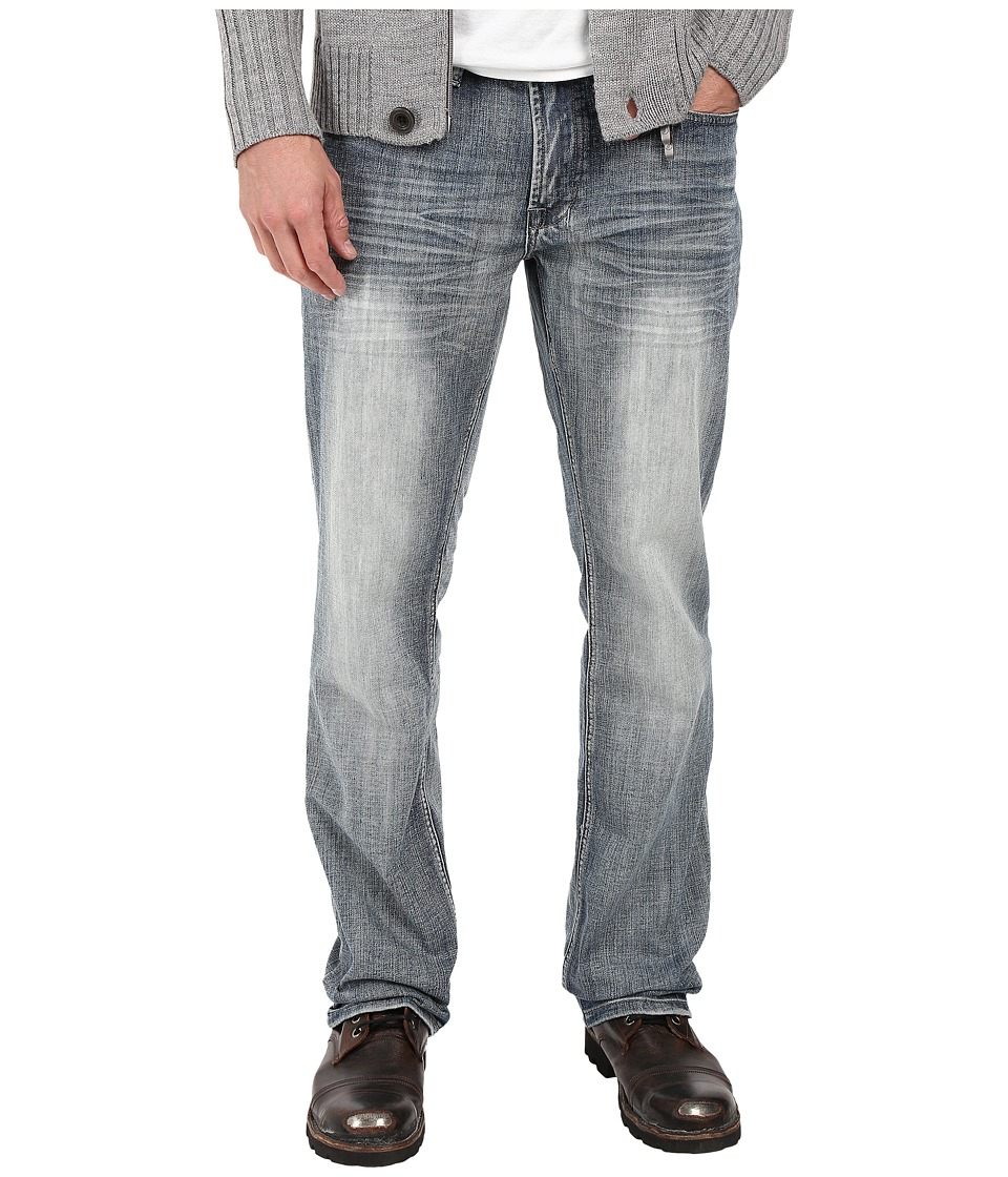 Buffalo David Bitton Buffalo David Bitton - Driven Relaxed Straight Leg in Blasted Indigo