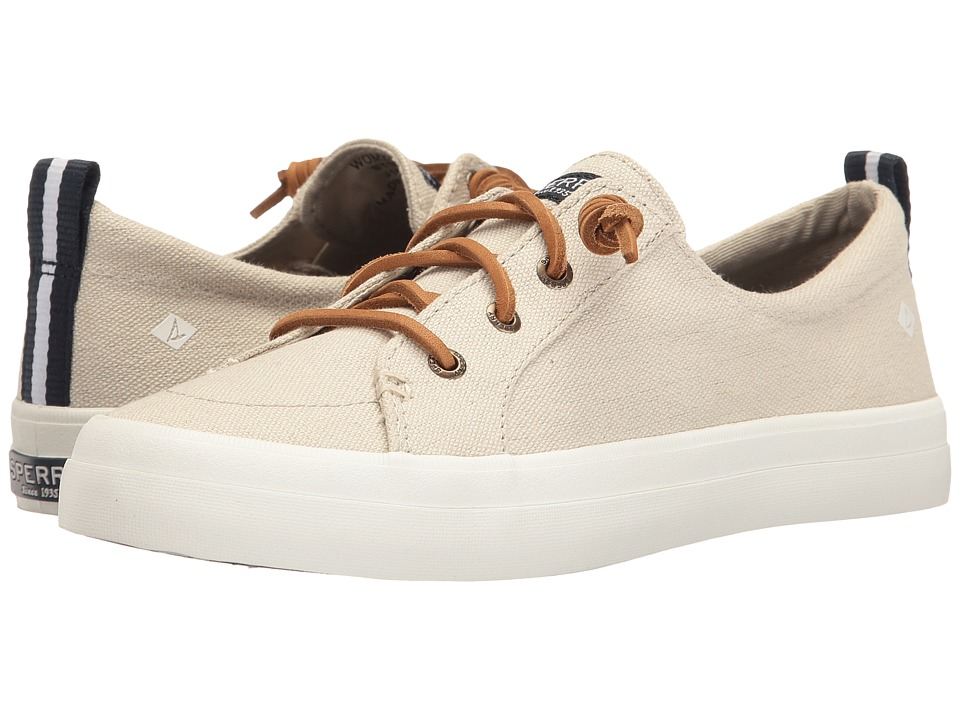 Sperry Crest Vibe Washed Linen (Oat) Women