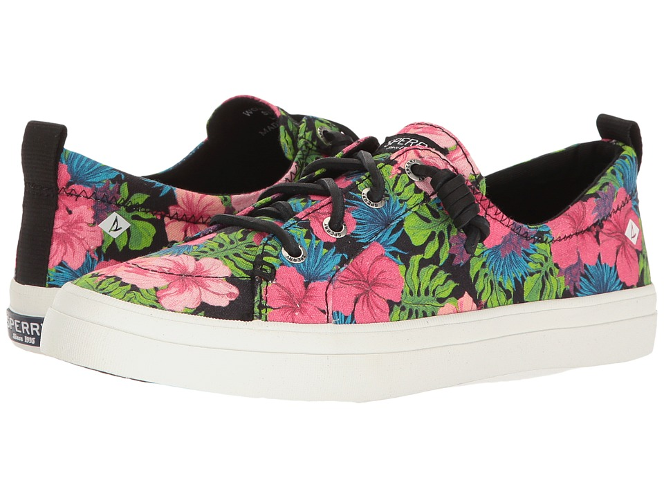 Sperry Crest Vibe Tropical Floral (Black Multi) Women