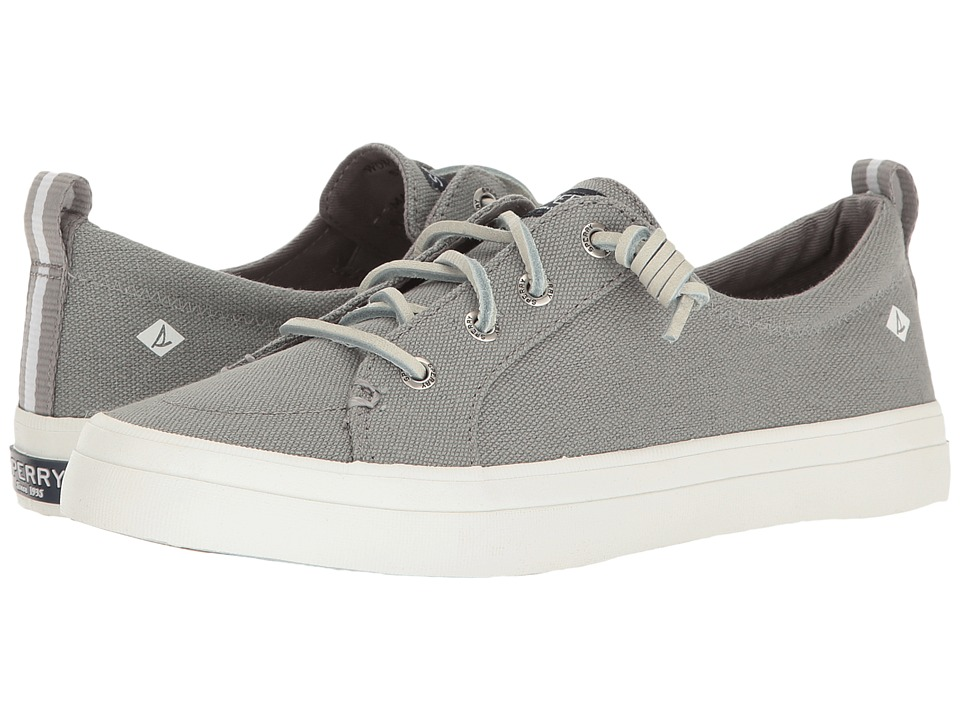 Sperry Crest Vibe Washed Linen (Grey) Women