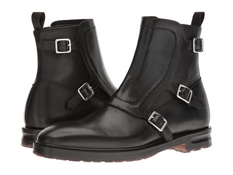Alexander McQueen Monk Strap Ankle Boot