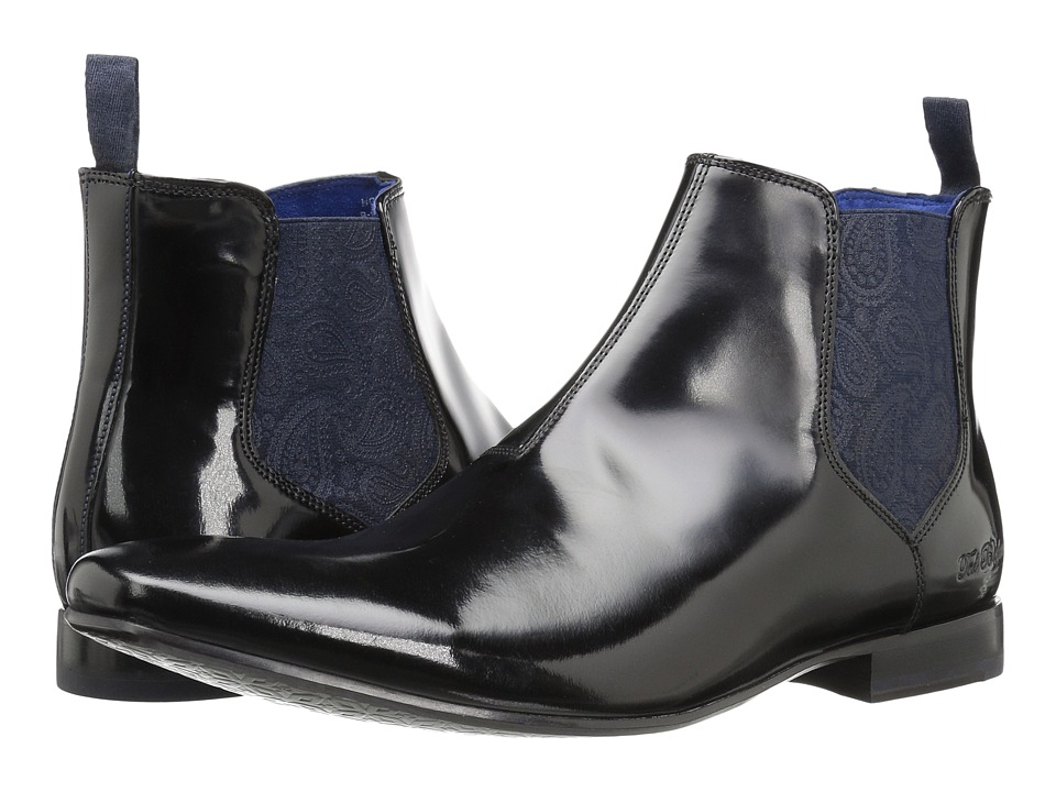Ted Baker Hourb 2 (Black High Shine) Men