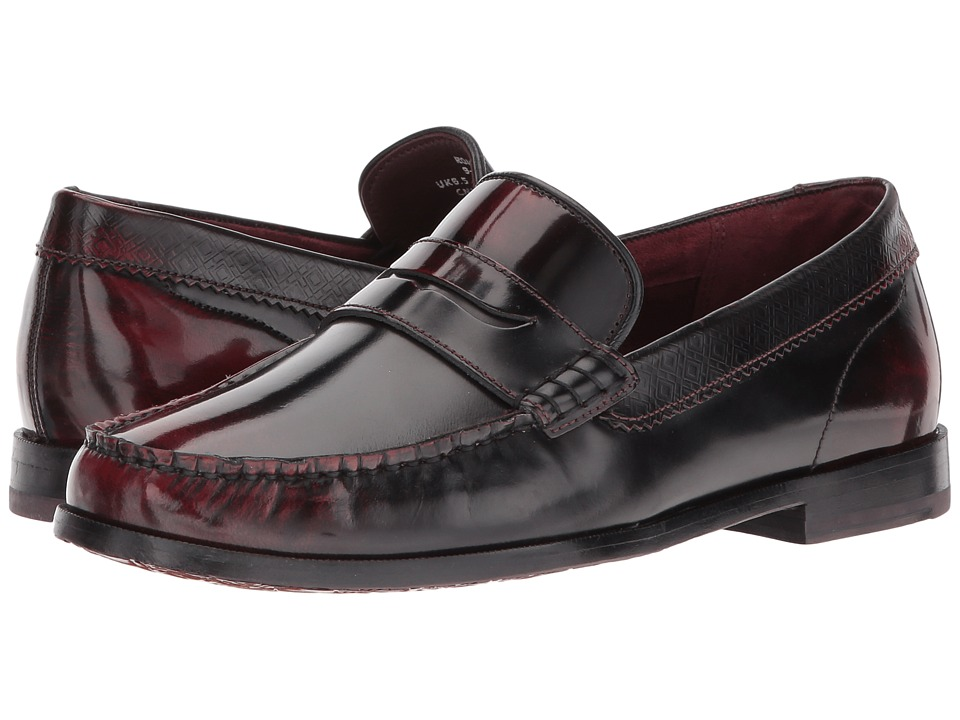 Ted Baker Rommeo (Dark Red Burnished Leather) Men