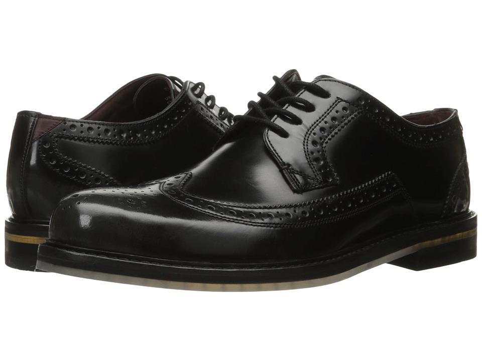 Ted Baker Ttanum 3 (Dark Grey High Shine Leather) Men