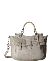 COACH - Madison Pinnacle Embossed Metallic Python Abby