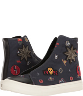 Alexander McQueen - Embroidered High Top Sneaker