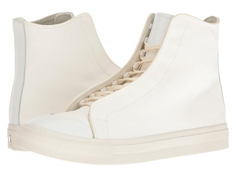 Alexander McQueen Tonal Applique High Top Sneaker - White