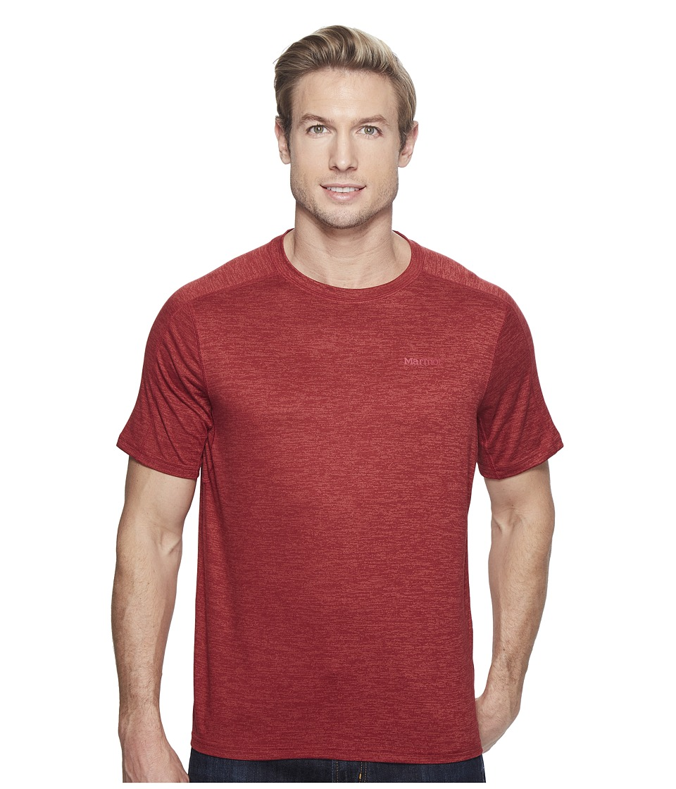 Marmot Ridgeline Short Sleeve (Retro Red Heather) Men