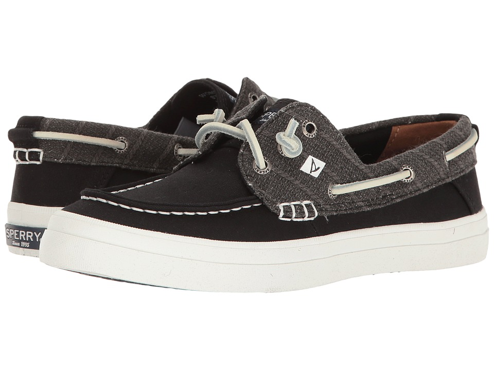 Sperry Crest Resort Heavy Linen (Black) Women
