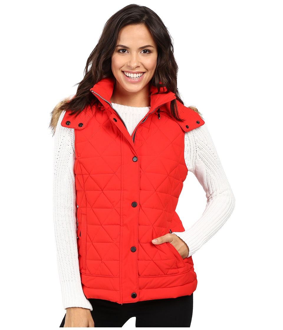 Marc New York by Andrew Marc - Thea 25 Pyramid Puffer Vest (Red) Women