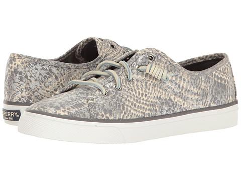 Sperry Seacoast Python - Grey/Silver