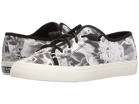 Sperry Seacoast Floral X-Ray - Black/White