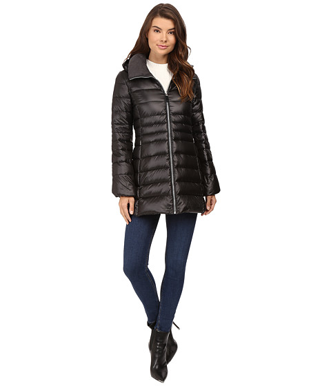 Marc New York by Andrew Marc Erin Sweater Down Jacket - Black