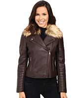Marc New York by Andrew Marc - Vanessa Faux Leather & Faux Fur Jacket