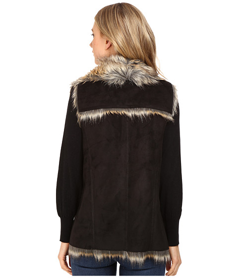 marc new york by andrew marc sedona 25 faux racoon vest. Black Bedroom Furniture Sets. Home Design Ideas