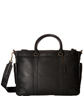 COACH - Bleecker Pebbled Leather Metropolitan Bag