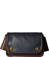 COACH - Legacy Color Block Leather Lock Bag