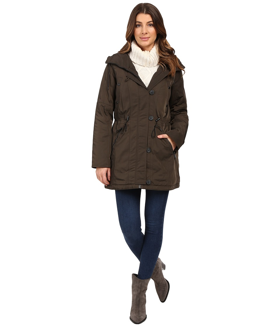 Marc New York by Andrew Marc - Chrissy 32 Luxe Rain Coat (Loden) Womens Coat