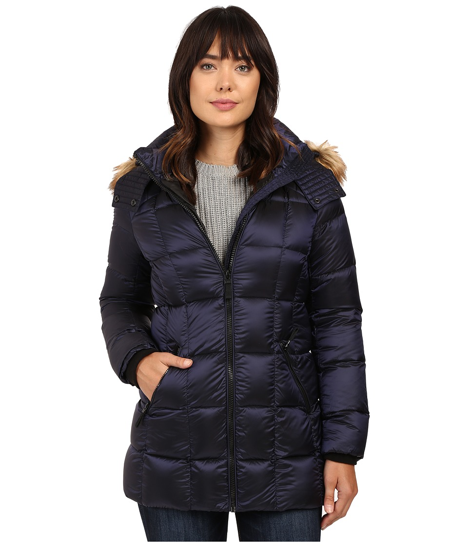 Marc New York by Andrew Marc Maddy 30 Metallic Down Jacket (Royal Blue) Women