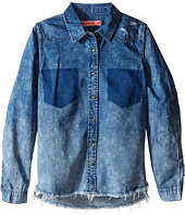 Blank NYC Kids - Denim Shirt in Float On (Big Kids)