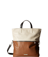 COACH - Thompson Leather Color Block Fold-over Tote