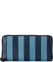 COACH - Bleecker Bar Stripe Accordion Wallet