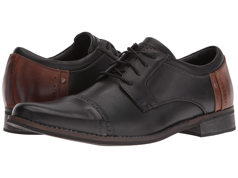 Mark Nason - Brubeck (Black/Tan Leather) Mens Shoes