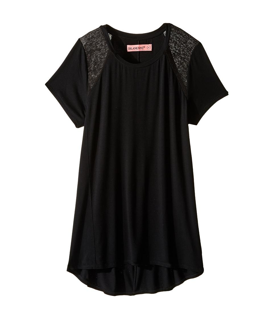 Blank NYC Kids - T-Shirt in Back in Black