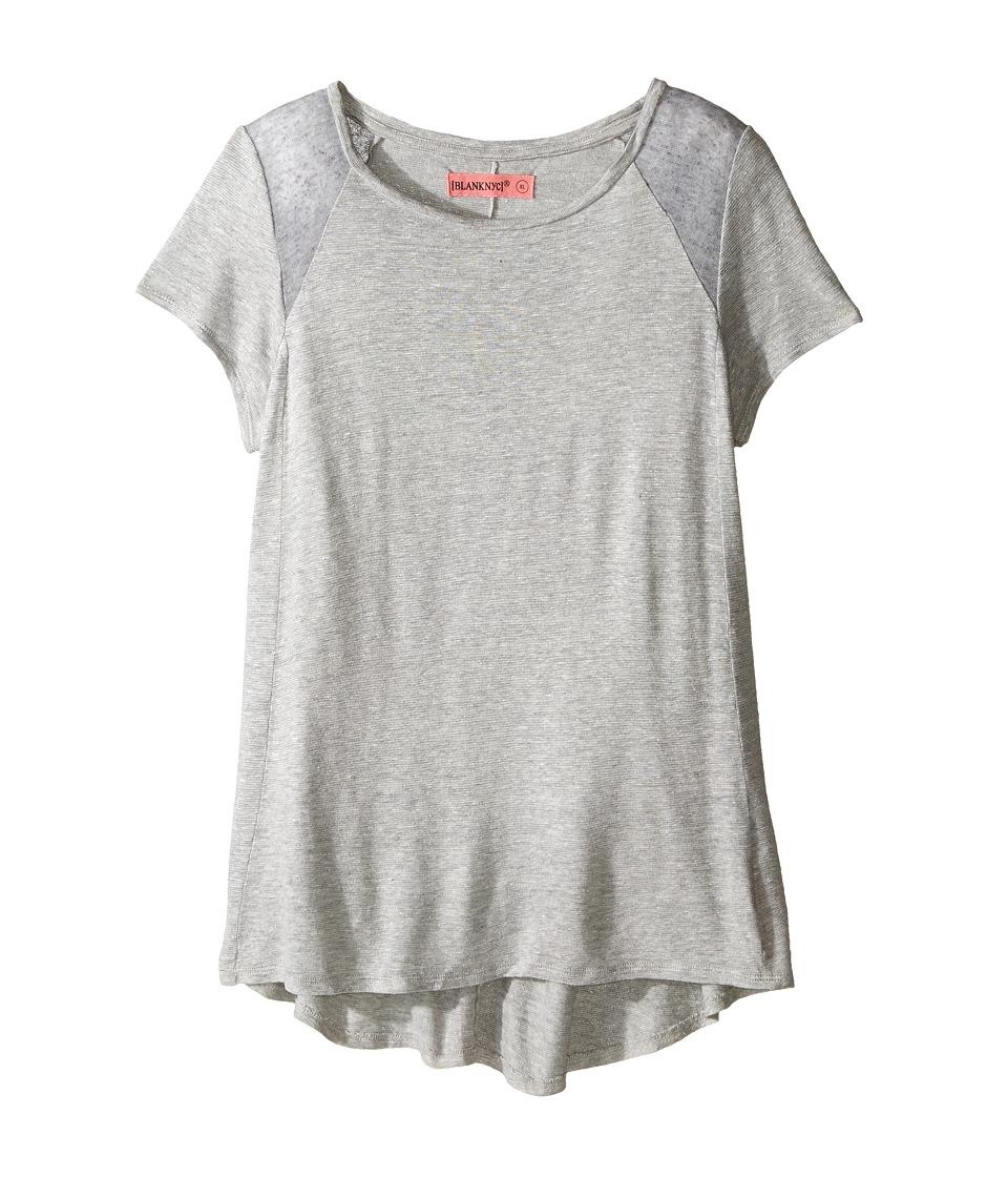 Blank NYC Kids - T-Shirt in Renegade Grey