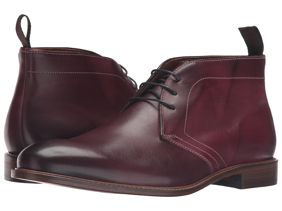 Massimo Matteo 3-Eye Chukka (Bordo) Men