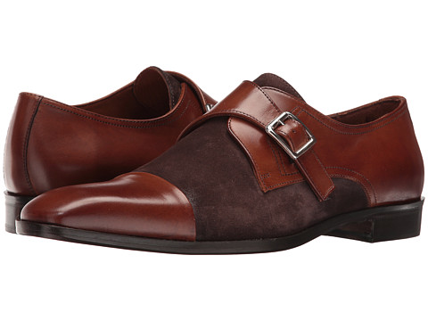 Massimo Matteo Suede/Leather Monk