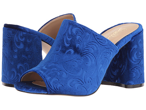 Shellys London Dalia - Blue Velvet