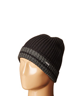 MICHAEL Michael Kors - Striped Full Cardigan Cuff Hat