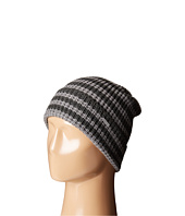 MICHAEL Michael Kors - Thermal Stripe Fold Up Cuff Hat