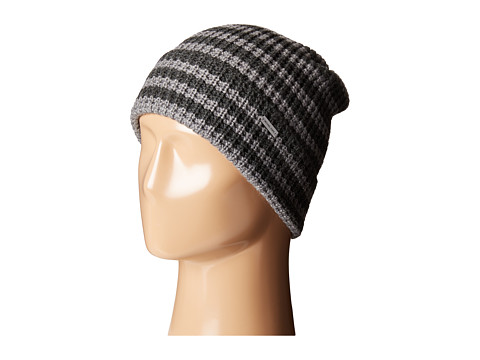 MICHAEL Michael Kors Thermal Stripe Fold Up Cuff Hat