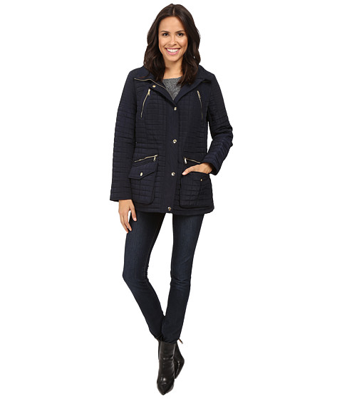 MICHAEL Michael Kors Box Quilted Jacket M421253T - Navy