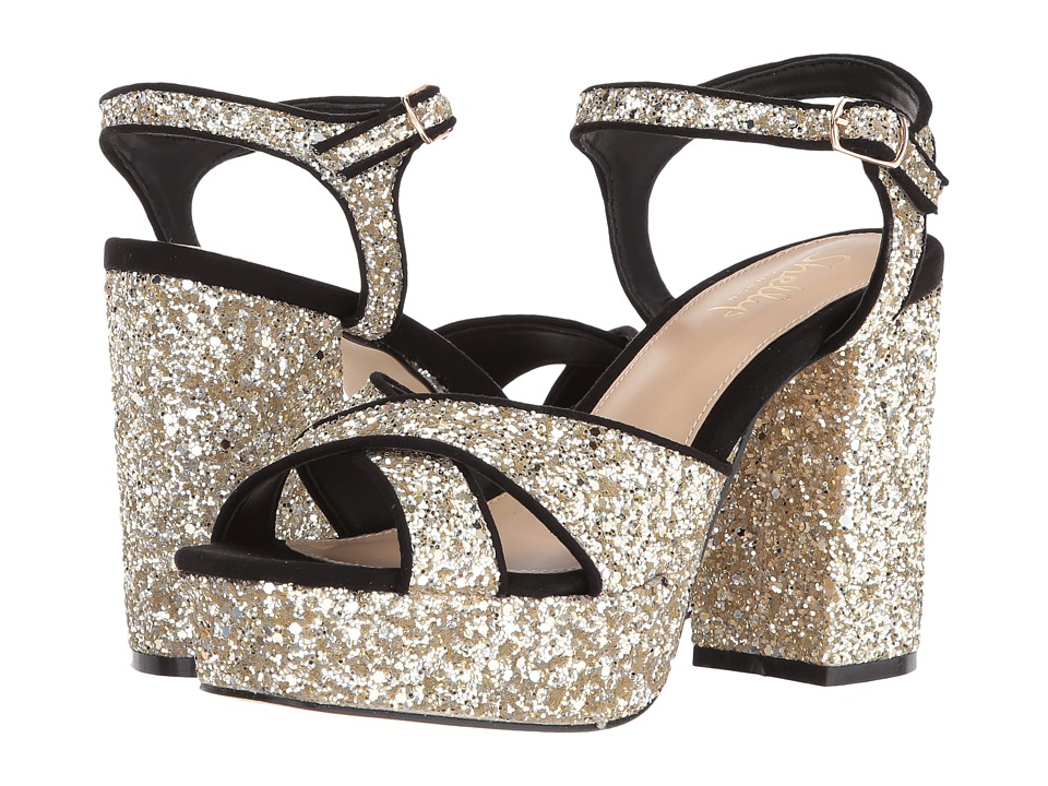 Shellys London Annie (Gold Glitter) High Heels