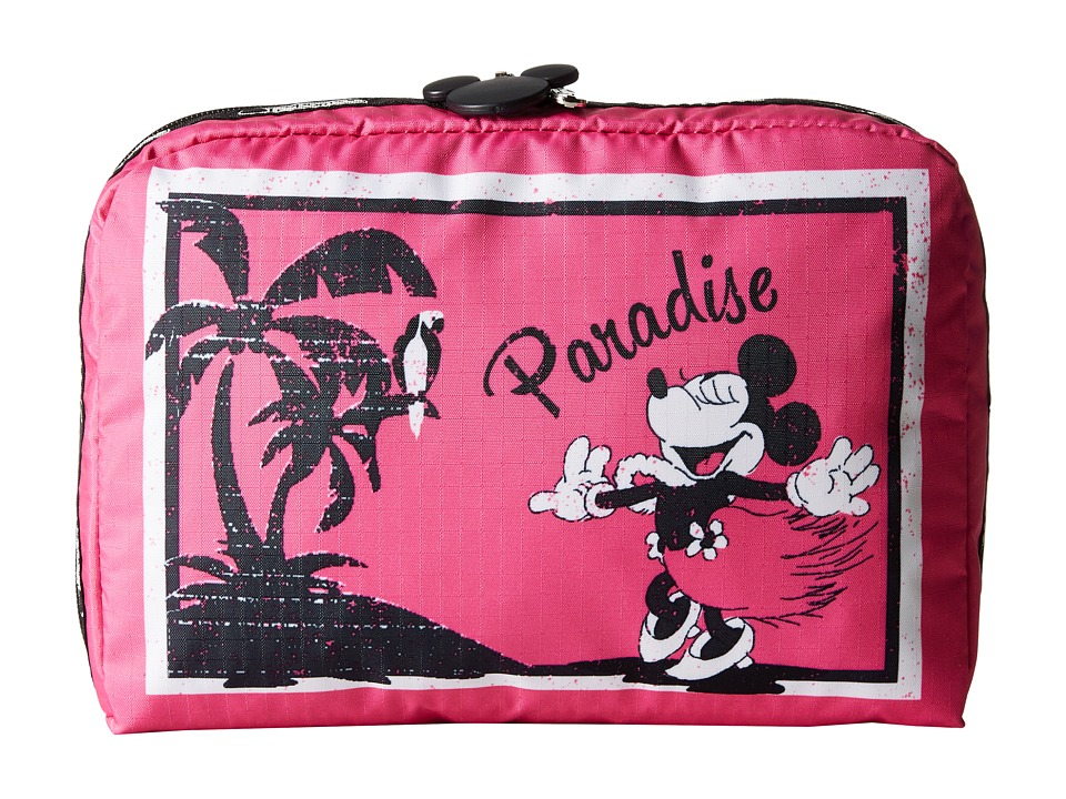 LeSportsac Luggage - Extra Large Rectangular Cosmetic Case (Minnie