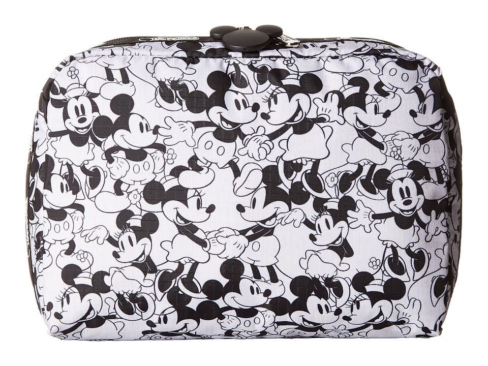LeSportsac Luggage - Extra Large Rectangular Cosmetic Case (Mickey Loves Minnie) Cosmetic Case