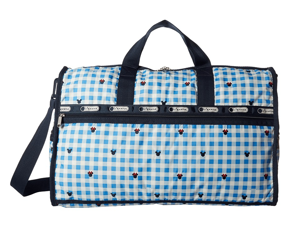 LeSportsac Luggage - Large Weekender (Checks and Bows) Duffel Bags