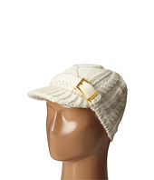 MICHAEL Michael Kors - Classic Hand Knit Cable News Boy Cap