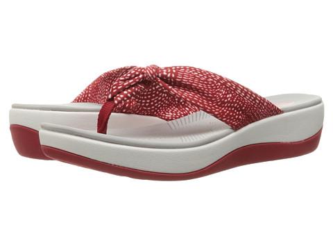 Clarks Arla Glison - Red/White Dots Fabric