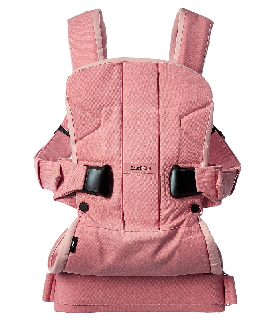 Image of BabyBjorn - Baby Carrier ONE (Coral Crab Cotton) Carriers Travel